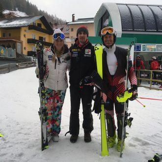 Janica i Ivica Kostelić, skijaši